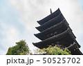 京都 八坂の塔 五重塔の写真 50525702