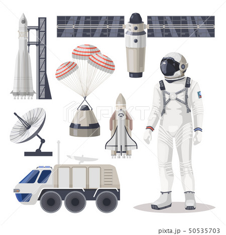 Space exploration, cosmos or Mars expedition item 50535703