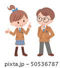 ベクター 女の子 男の子のイラスト 50536787