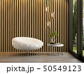 Interior of modern living room with chair 3D rendering 50549123