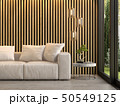 Interior of modern living room with sofa 3D rendering 50549125