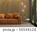 Interior of modern living room with sofa 3D rendering 50549128