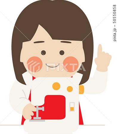 女性キャラクターミシン 50550858