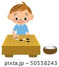 囲碁をする子供 50558243