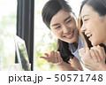 女性 若い女性 2人の写真 50571748