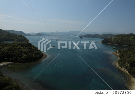 日本の風景 瀬戸内海国立公園 徳島県 鳴門 堀越海峡 50572350