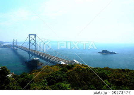 日本の風景 瀬戸内海国立公園 徳島県 鳴門 大鳴門橋 50572477