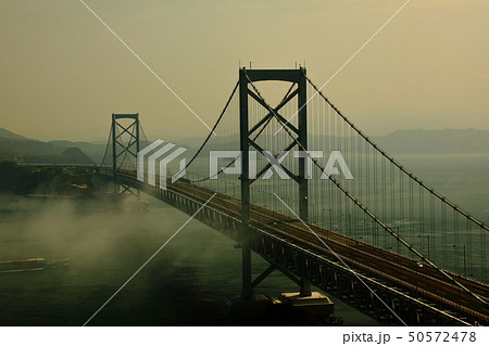 日本の風景 瀬戸内海国立公園 徳島県 鳴門 大鳴門橋 50572478