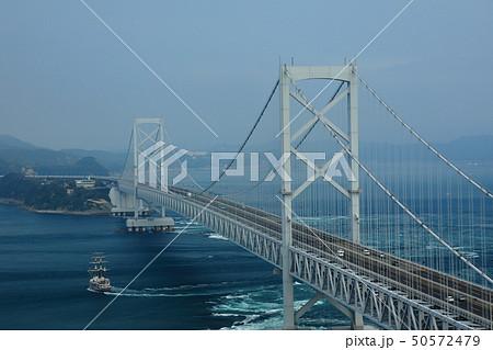 日本の風景 瀬戸内海国立公園 徳島県 鳴門 大鳴門橋 50572479