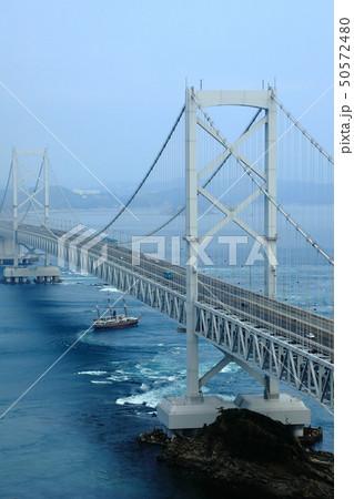 日本の風景 瀬戸内海国立公園 徳島県 鳴門 大鳴門橋 50572480