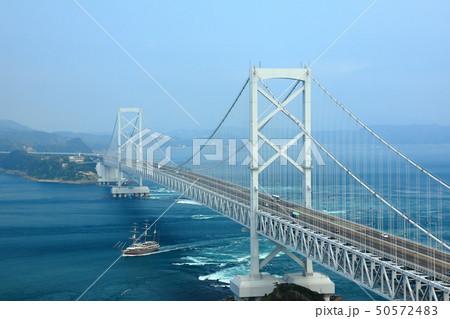 日本の風景 瀬戸内海国立公園 徳島県 鳴門 大鳴門橋 50572483