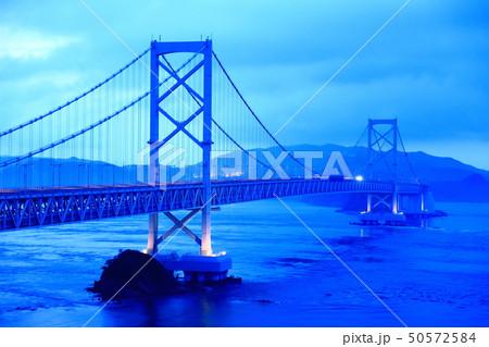 日本の風景 瀬戸内海国立公園 徳島県 鳴門 大鳴門橋 50572584