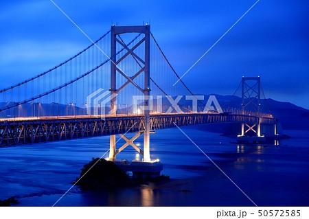 日本の風景 瀬戸内海国立公園 徳島県 鳴門 大鳴門橋 50572585