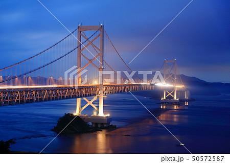 日本の風景 瀬戸内海国立公園 徳島県 鳴門 大鳴門橋 50572587