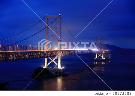日本の風景 瀬戸内海国立公園 徳島県 鳴門 大鳴門橋 50572588