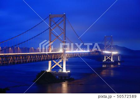日本の風景 瀬戸内海国立公園 徳島県 鳴門 大鳴門橋 50572589