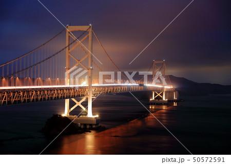 日本の風景 瀬戸内海国立公園 徳島県 鳴門 大鳴門橋 50572591