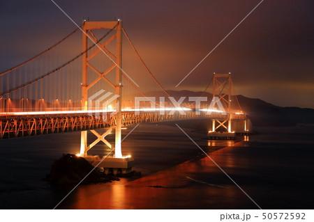 日本の風景 瀬戸内海国立公園 徳島県 鳴門 大鳴門橋 50572592