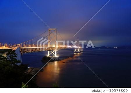 日本の風景 瀬戸内海国立公園 徳島県 鳴門 大鳴門橋 50573300