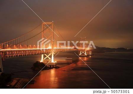 日本の風景 瀬戸内海国立公園 徳島県 鳴門 大鳴門橋 50573301