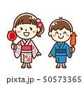 子供 浴衣 50573365