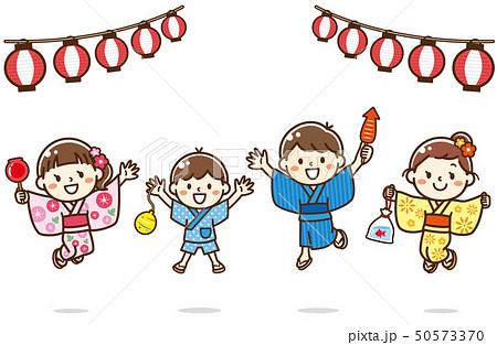 お祭り 子供 50573370