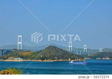 日本の風景 瀬戸内海国立公園 愛媛県 今治市 しまなみ海道 50573374