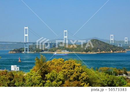 日本の風景 瀬戸内海国立公園 愛媛県 今治市 しまなみ海道 50573383