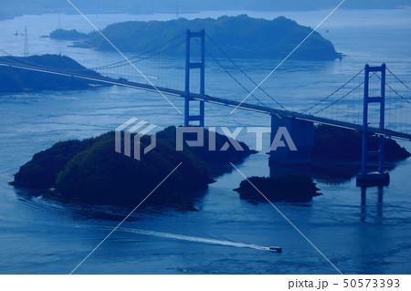 日本の風景 瀬戸内海国立公園 愛媛県 今治市 しまなみ海道 50573393
