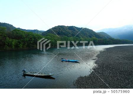 四万十川 日本三大清流 日本の風景 高知県  50575960