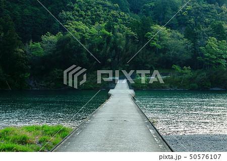 四万十川 高瀬沈下橋 日本三大清流 日本の風景 高知県  50576107