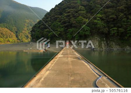 四万十川 岩間沈下橋 日本三大清流 日本の風景 高知県  50576116