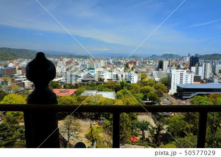 高知城 重要文化財 史跡 日本100名城 天守閣 高知市街 50577029