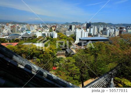 高知城 重要文化財 史跡 日本100名城 天守閣 高知市街 50577031