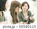 電車乗車イメージ 「撮影協力 札幌市交通局」 50580115