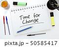 変化 変更 時間のイラスト 50585417
