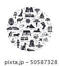 イコン シンボル 記号のイラスト 50587328