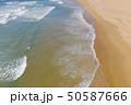 Atlantic ocean sandy beach with turquoise ocean an 50587666