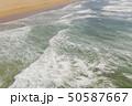 Atlantic ocean sandy beach with turquoise ocean an 50587667