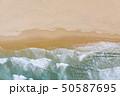 Atlantic ocean sandy beach with turquoise ocean an 50587695