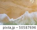 Atlantic ocean sandy beach with turquoise ocean an 50587696