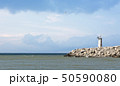 Lighthouse and sea 50590080
