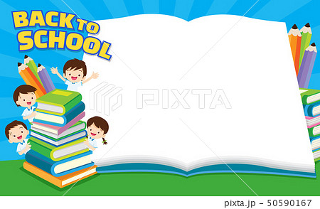 Back to school kids,education concept 50590167