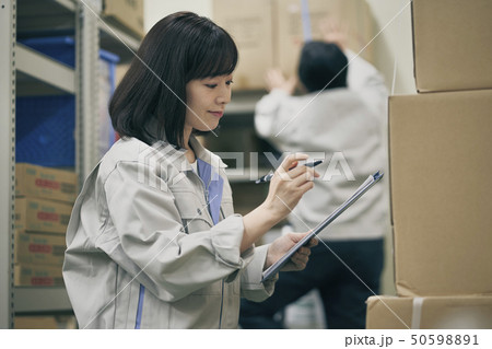 倉庫 ビジネスシーン 50598891