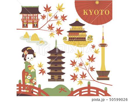 京都のイメージいろいろ 50599026