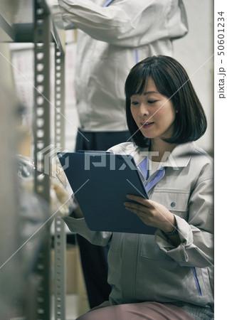 倉庫 ビジネスシーン 50601234