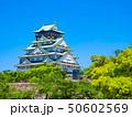 新緑の大阪城 50602569