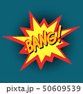 bang Comic cartoon pop art vector retro vintage 50609539