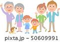 六人家族 元気 集合 50609991