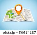 地図 ベクトル マーカのイラスト 50614187